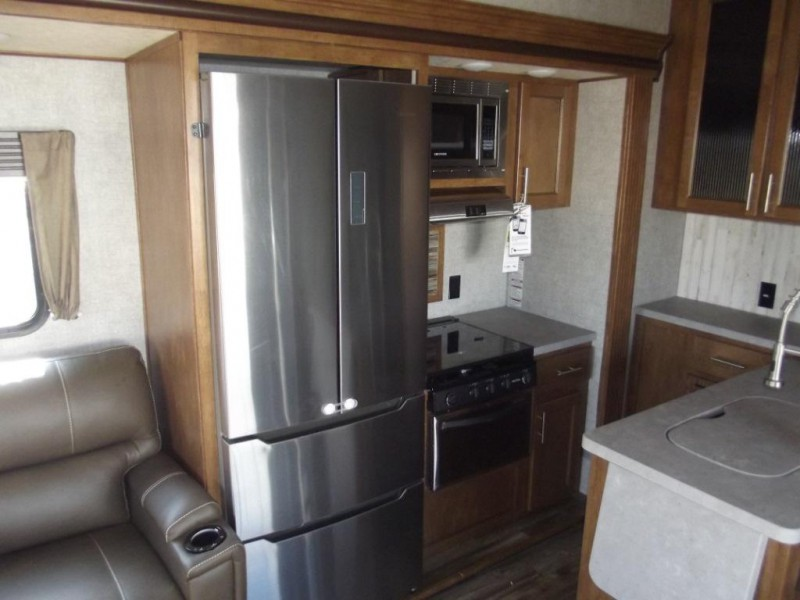 Sabre fifth wheel kitchen