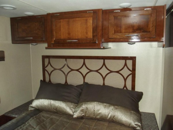 Pursuit Class A Motorhome bedroom