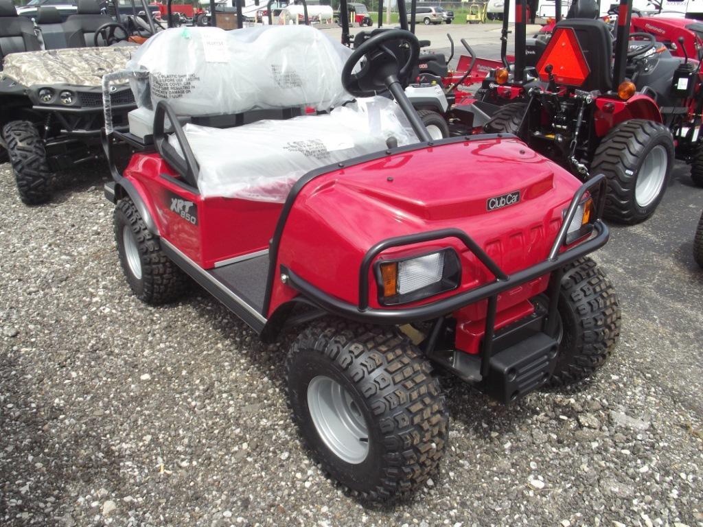 red gas club car gold cart