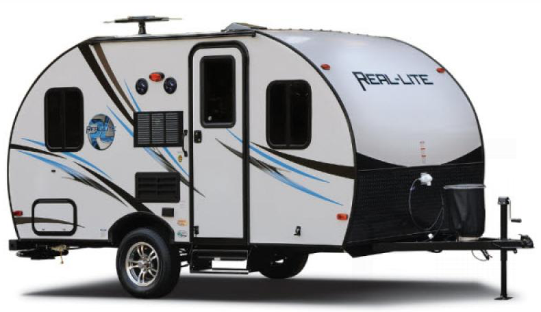 real lite travel trailer