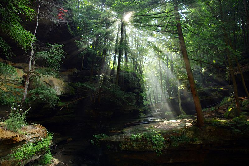 old man's cave at hocking hills