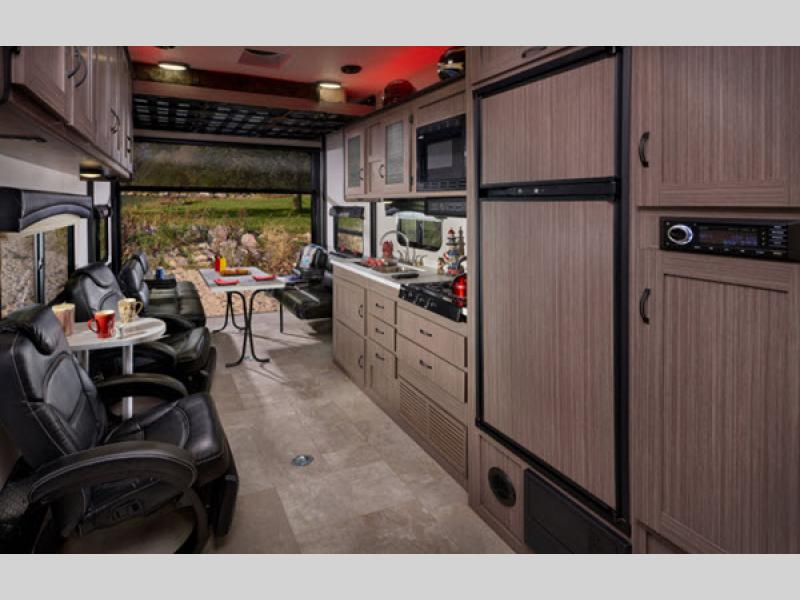 Coachmen Adrenaline Toy Hauler Travel Trailer Interior