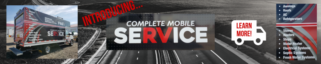 Service Truck Banner