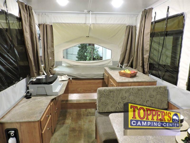 Forest River Rockwood 1940LTD Pop Up Camper Interior