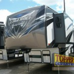 Forest River Vengeance Touring Edition 38L12 Fifth Wheel Toy Hauler Front Cao