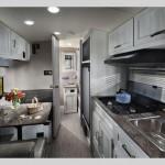 Rockwood Geo Pro Lite Travel trailer interior