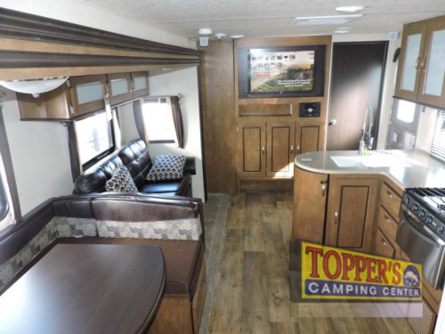 Forest River Wildwood 28CKDS Travel Trailer Interior