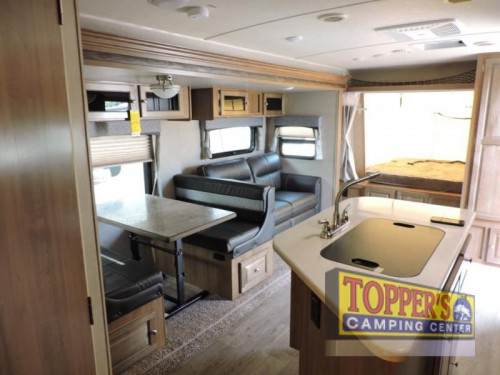 Rockwood Roo Expandable Travel Trailer Interior