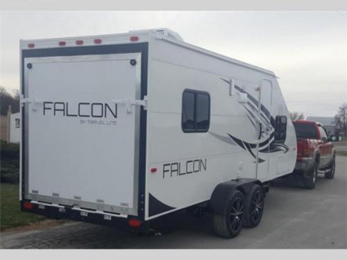 Travel Lite Falcon Travel Trailer Toy Hauler