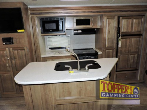 Rockwood Roo Expandable Travel Trailer Kitchen