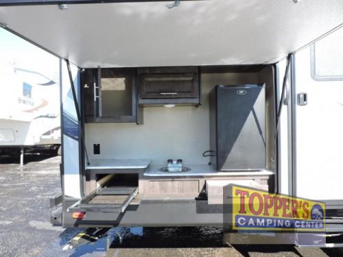 Dutchmen Kodiak Ultra Lite 299BHSL Travel Trailer Outside Kitchen