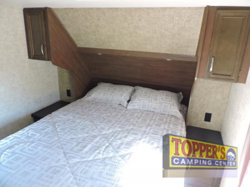 Forest River Sandpiper HT 3350BH Fifth Wheel Bedroom