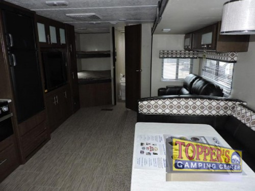 Avenger ATI 27DBS Travel Trailer Interior