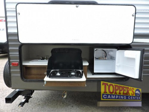 Avenger ATI 27DBS Travel Trailer Outdoor Kitchen