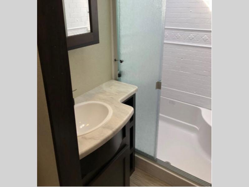 bathroom snail rv