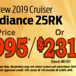 cruiser radiance 25RK