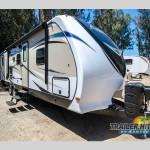 The Dutchmen RV Aerolite travel trailer.