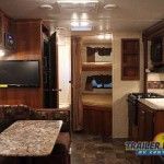 Prime Time Tracer Air Travel Trailer Interior