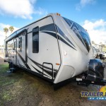 2018 Eclipse Attitude Wide Lite 28iBG Toy Hauler Travel Trailer