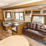 Forest River RV Wildwood 30QBSS Travel Trailer Interior