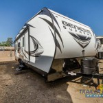 Genesis Supreme Toy Hauler Travel Trailer