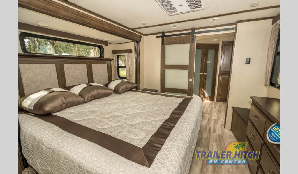 Trailer Hitch RV Special Grand Design Solitude Bedroom