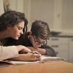 focused student