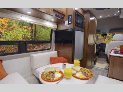 Pleasure-Way Ascent Motorhome Interior