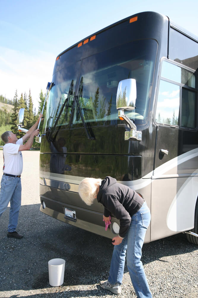 RV care tips exterior