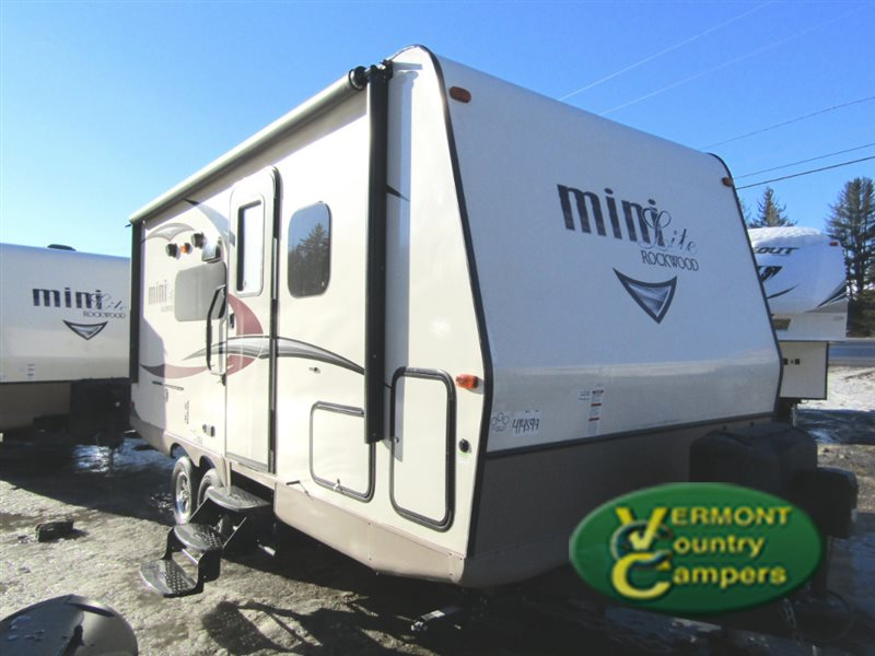 Forest River Rockwood Mini Lite Travel Trailer