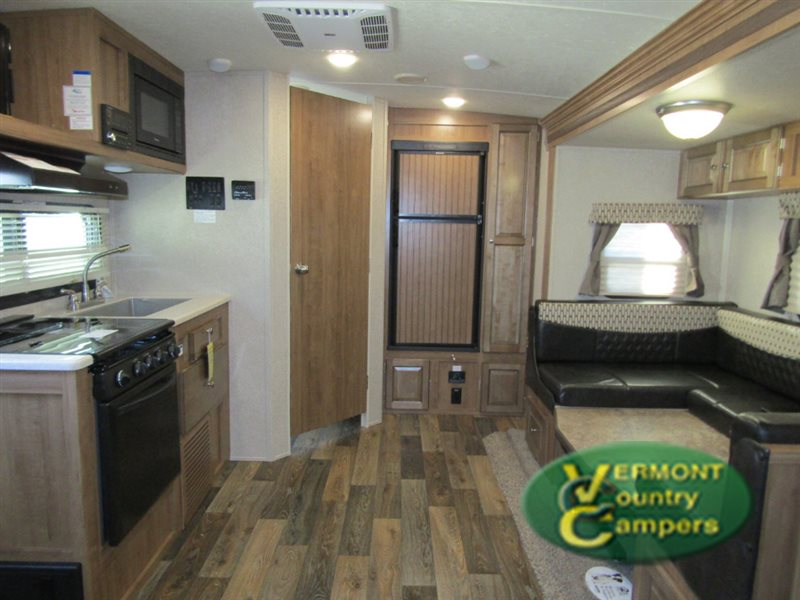 Forest River Rockwood Mini Lite Travel Trailer Interior