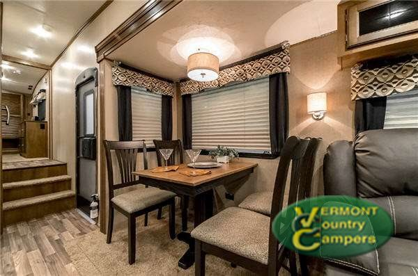 Coachmen Chaparrel Fifth Wheel Kitchen