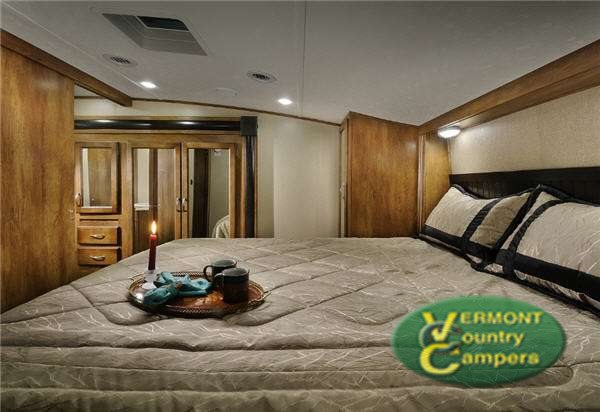 Coachmen Chaparrel Fifth Wheel Master Bedroom