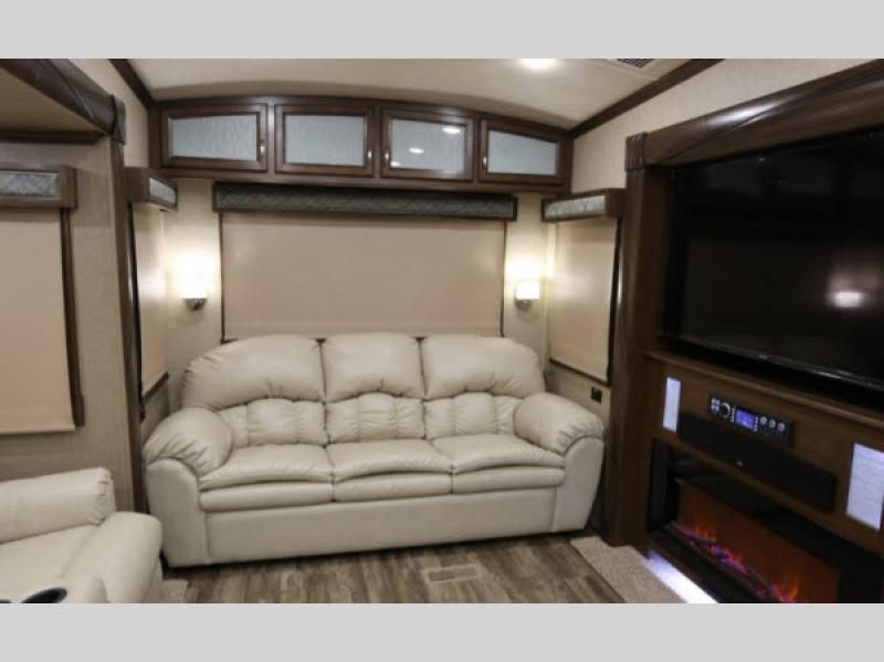 Cedar Creek Champagne Edition Fifth Wheels Living Room