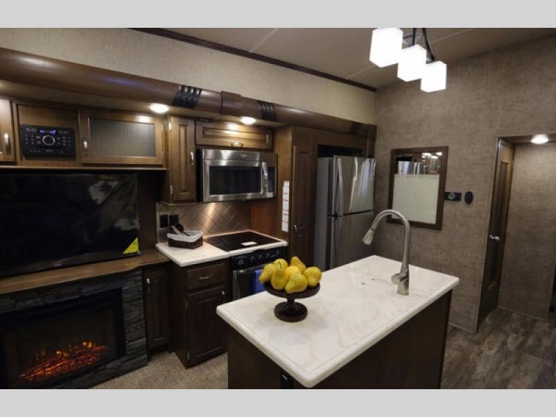 Cedar Creek Silverback Fifth Wheel Kitchen