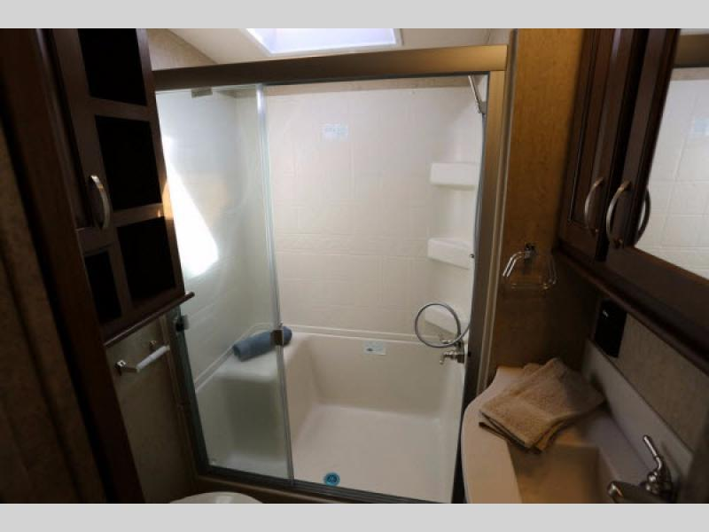 Cedar Creek Silverback Fifth Wheel Bathroom