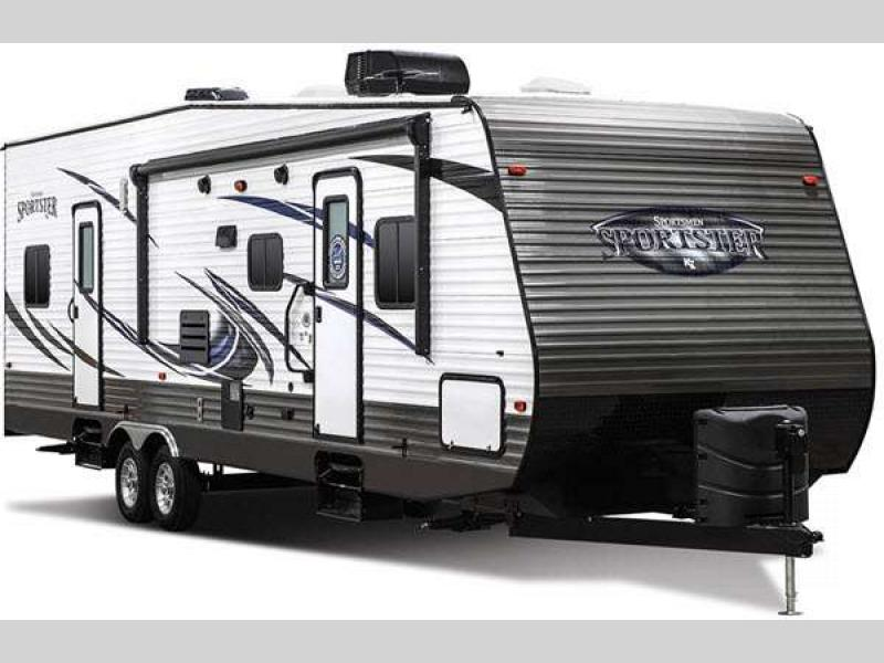 KZ Sportsman Sportster Toy Hauler Travel Trailer