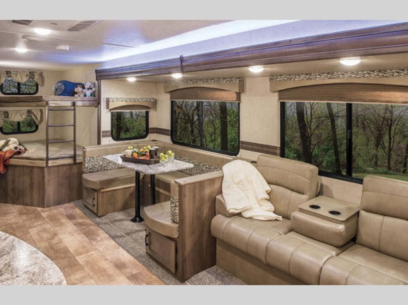 KZ Connect travel trailer Interior