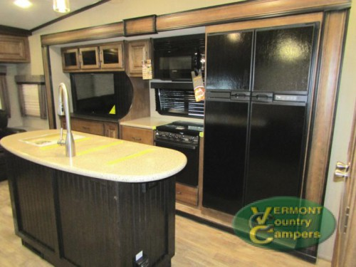 Grand Design Reflection Fifth Wheel Kitchen