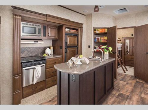 Forest River Sierra Select Fifth Wheel Kitchen