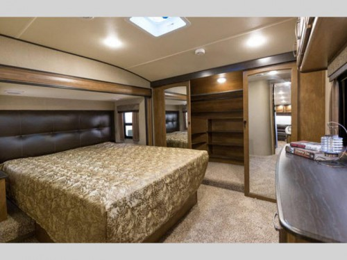Grand Design Reflection Fifth Wheel Master Bedroom
