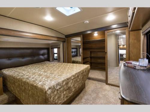 Grand Design Reflection Fifth Wheel Master Bedroom