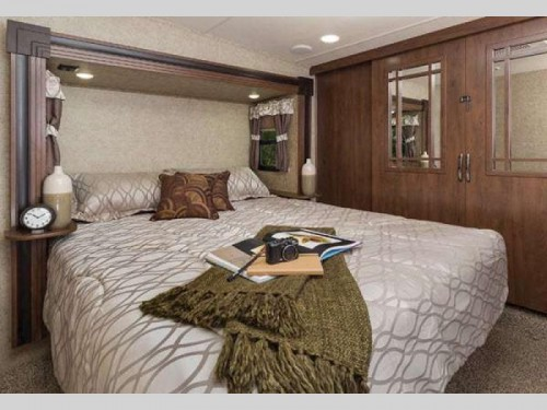 Forest River Sierra Select Fifth Wheel Master Bedroom