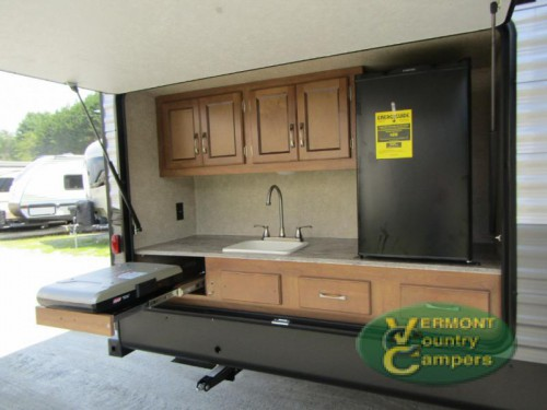 Coachmen Catalina Legacy Travel Trailer Exterior Kitchen