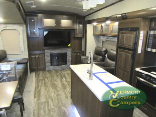 Cedar Creek Silverback Fifth Wheel Interior