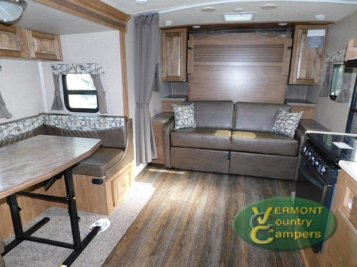 Rockwood Mini Lite travel trailer Interior