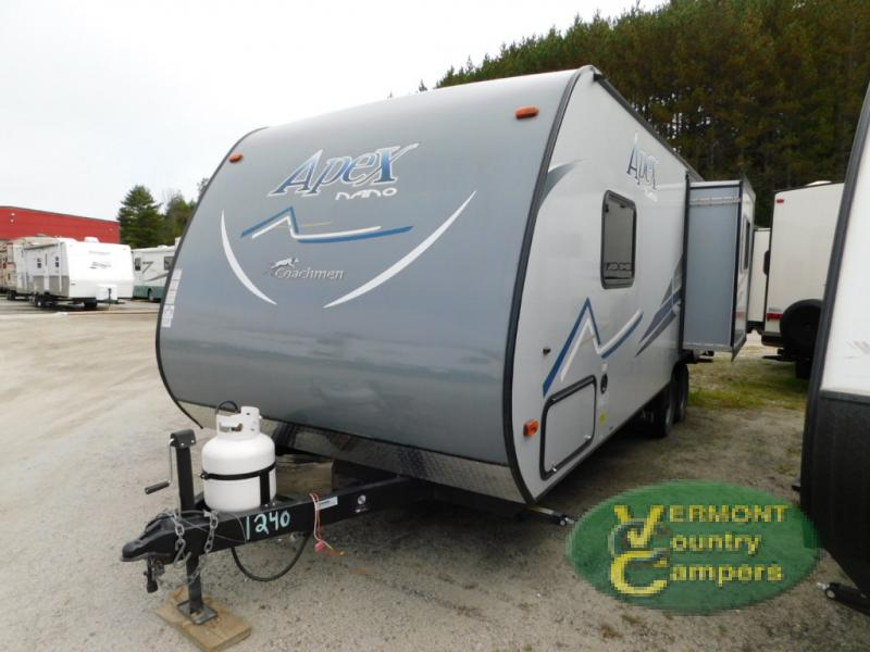 exterior nano travel trailer