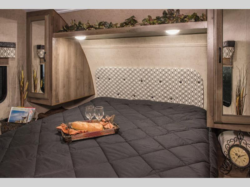 kz connect bedroom with queen sized bed