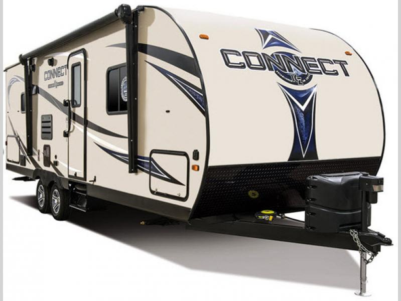 kz connect travel trailer photo