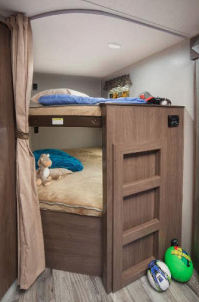 bunks in hideout